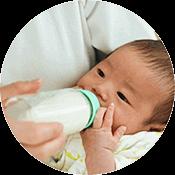 夜中のミルク作りなど、子育てのつよい味方、クリクラサーバー!